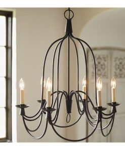 Armonk 6 Arm Metal Chandelier