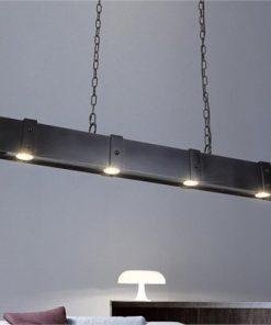 Joakim Metal Beam Linear Spotlight Pendant