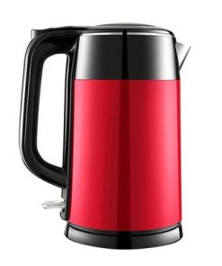 1.7 Litre 18/10 Food Grade Stainless Steel Electric Kettle Kitchen 2 Colors Red