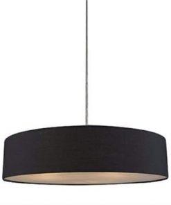 Mara Drum Pendant Light - Black