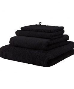 Aquanova - London Towel - Black - Bath Towel