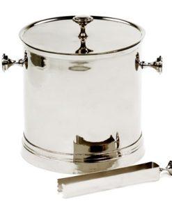 Dawe Aluminium Ice Bucket & Tong Set