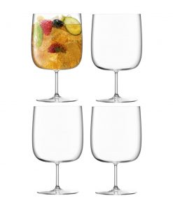 LSA International - Borough Craft Beer Glass - Set of 4 - Clear
