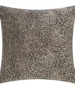 A by AMARA - Champagne Leopard Cushion - 45x45cm
