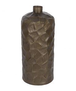 A by AMARA - Croc Effect Bronze Vase