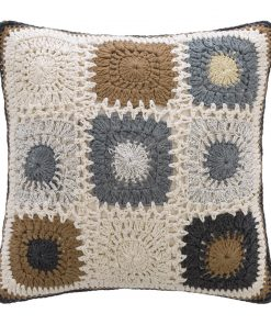 A by AMARA - Crochet Cushion - 45x45cm