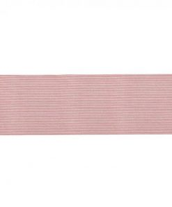 Abby Stripe Fabric Table Runner, Terracotta