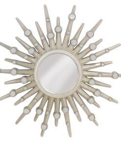 Adore Polyresin 103cm Round Wall Mirror