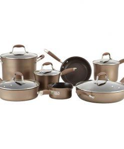 Anolon Advanced Bronze 12 Piece Cookware Set