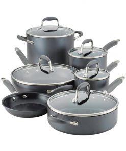Anolon Advanced Home Moonstone 11 Piece Cookware Set