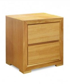Audi Custom Timber Bedside - 2 Drawers