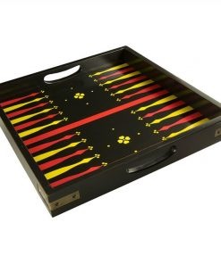 Backgammon Solid Timber Serving Tray