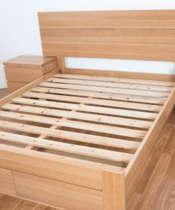 Benson Timber Bed Frame - Suite Option
