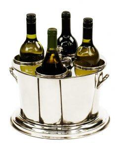 Carlson Aluminium Wine Cooler Bucket