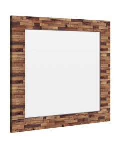 Edensor Recycled Pine Timber Frame Dressing Mirror, 130cm