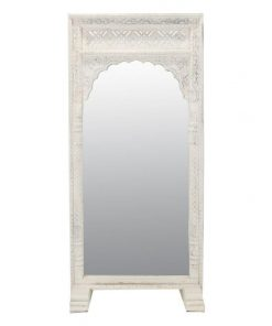 Nora Arched Wooden Frame 182cm Mirror
