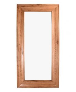 Northumbria Oak Timber Frame Floor Mirror, 200cm