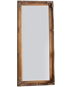 Ronni Baroque Floor Mirror, 156cm, Bronze