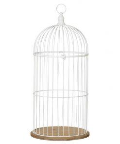 Tweetie Metal & Wood Birdcage, 74cm