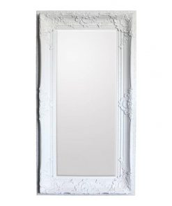 Walter Leaner Floor Mirror, 180cm, Cream