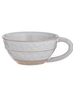 Belgrave Soup Mug Size W 15cm x D 10cm x H 15cm in White Freedom