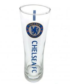 Chelsea Fc Tall Beer Glass