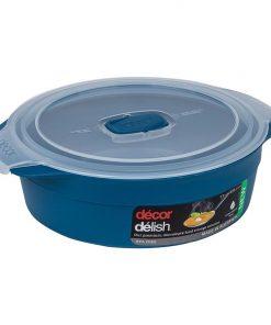 Delish Premium Microwave Round Container