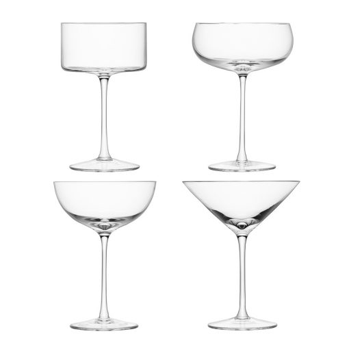 LSA International - Lulu Cocktail Glasses - Set of 4 - Assorted