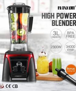 3L HIgh Power Blender Commercial Food Processor Mixer Smoothie Maker Juicer