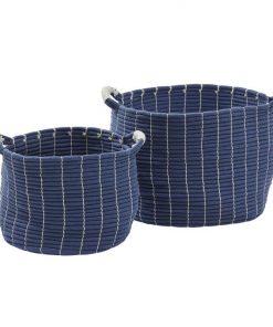 Adira 2 Piece Cotton Rope Basket Set