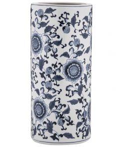 Allaire Hand Painted Ceramic Umbrella Stand