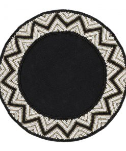 A by AMARA - Addison Beaded Placemats - Set of 2