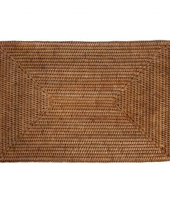 A by AMARA - Rattan Placemat - Set of 2 - Natural