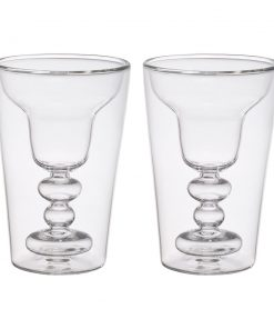 Bitossi Home - Double Walled Cocktail Glasses - Set of 2 - Margarita