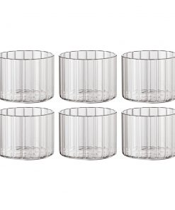 Bitossi Home - Romantic Stemless Wine Glasses - Set of 6