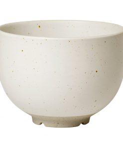 Broste Copenhagen - Eli Serving Bowl - Soft Light Grey