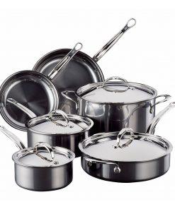 Hestan - Stainless Steel Cookware Set - 10 Piece Set