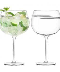 LSA International - Verso Cocktail Balloon Glass - Set of 2