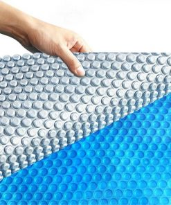 11x4.8M Real 400 Micron Solar Swimming Pool Cover Outdoor Blanket Isothermal