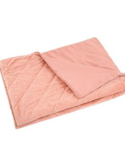 202x151cm Anti Anxiety Weighted Blanket Cover Polyester Cover Only Peach