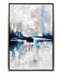 """Almost Famous"" Framed Enhanced Canvas Wall Art Print, 95cm"