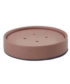 Aquanova Forte Ceramic Soap Dish, Brique