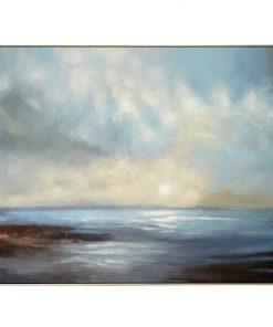 """Beachcomber Cove"" Canvas Wall Art Print, 120cm"