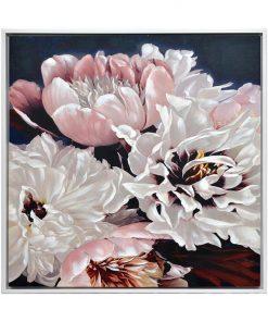 """Blushing Bride"" Framed Enhanced Canvas Wall Art Print, 105cm"
