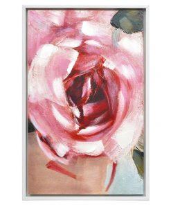 """Breathless"" Framed Enhanced Canvas Wall Art Print, 85cm"
