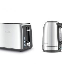 Breville the Breakfast Pack Kettle and Toaster Pack LKT640BSS |