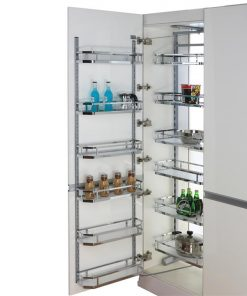 [Clearance] ELITE Provedore Open Out Pantry - Adjustable Height - for 450mm or 600mm Cabinet - Internal Unit