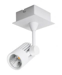 Jet LED Spotlight, 1 Light, 3000K, White