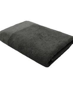 Bambury Costa Cotton Bath Towel 68 x 140cm Pewter Grey