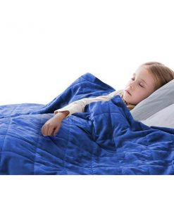 2Kg Kids Anti Anxiety Weighted Blanket Gravity Blankets Blue Colour